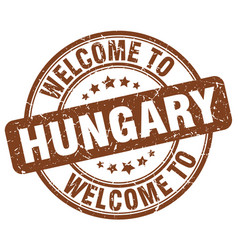 Welcome to hungary vector
