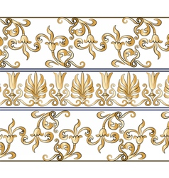 Classic empire style pattern vector