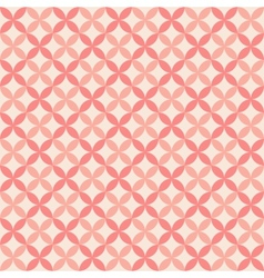 Pretty pastel seamless pattern tiling with swatch vector image