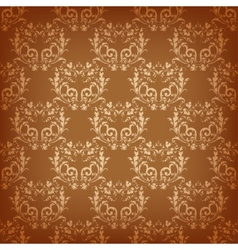 old seamless background vector image vector image