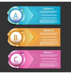 Progress Background Product Choice or Version vector image vector image