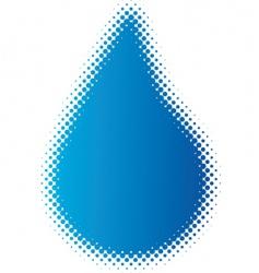 raindrop vector image vector image