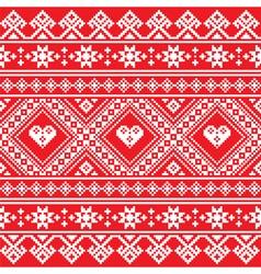 Traditional Ukrainian or Belarusian folk art white vector image vector image