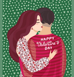 design concept for valentines day vector image