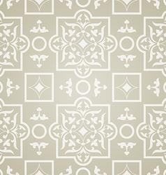 east pattern beige background vector image