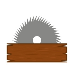 electric saw tool icon vector image