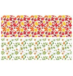 floral web banner vector image