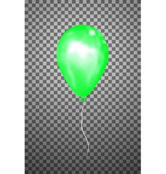 Green air balloon eps10 vector