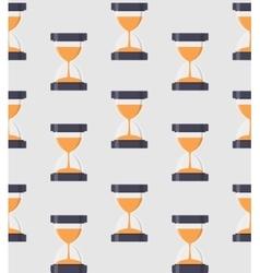 Hourglass Sandglass Icon Seamless Pattern vector image