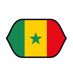 Jamaica flag emblem vector