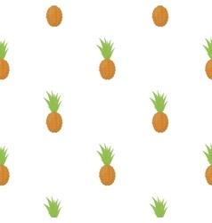 Pineapple icon cartoon Singe fruit icon vector