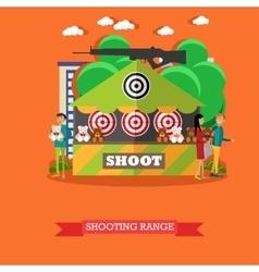 Shooting range attraction vector