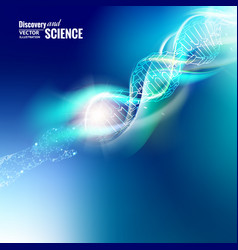 absrtact science concept vector image vector image
