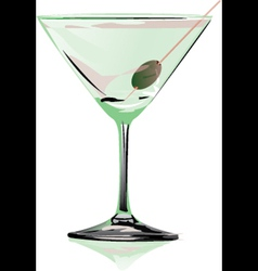 Cocktail Martini vector image