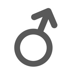 male gender symbol icon simple vector image vector image