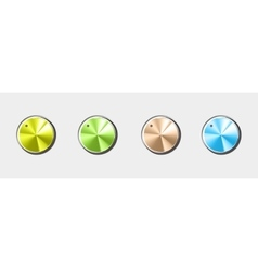 Volume button All by layers vector image