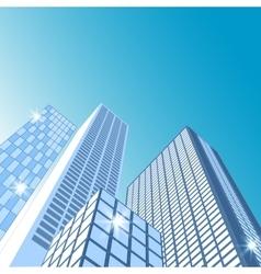 Modern cityscape City skyline vector image vector image
