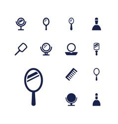 13 cosmetics icons vector