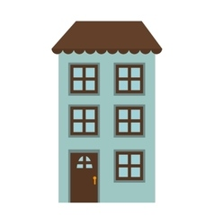 Apartment house property vector