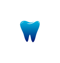 dental tooth logo vector image