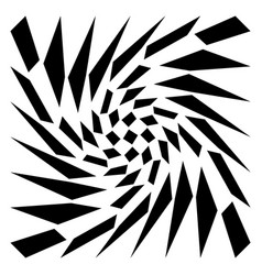 Distorted mesh grid geometric element irregular vector