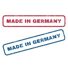 Made in germany rubber stamps vector
