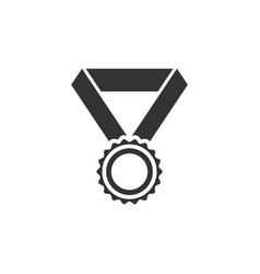 medal award icon graphic design template isolated vector image