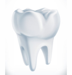 tooth medicine 3d icon vector image