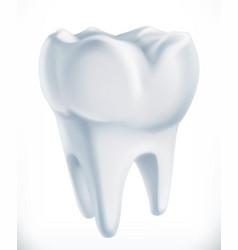 Tooth medicine 3d icon vector