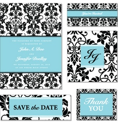 vector black and pastel frame set vector image