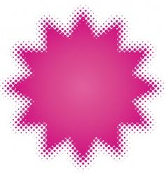 purple star vector image