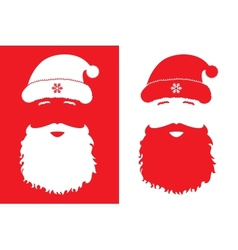 Santa Claus fashion style vector image vector image