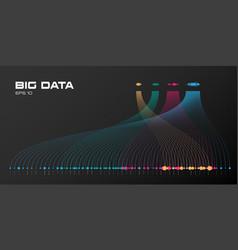 Big data visualization of vector