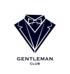 Getleman club logo vector