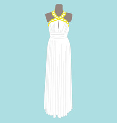 image of woman dress vector image