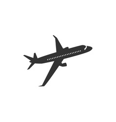 plane icon graphic design template isolated vector image