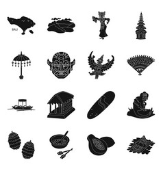 Traditional icon set vector