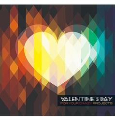 Valentines crazyb vector