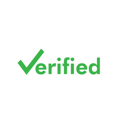 verified icon graphic design template isolated vector image