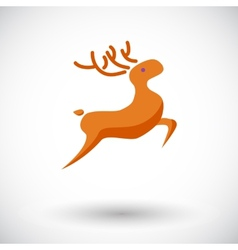 Deer icon vector image vector image