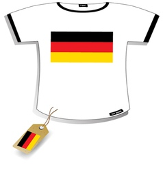 Germany T-shirt vector image vector image