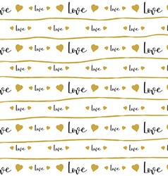 love pattern background 3105 vector image vector image
