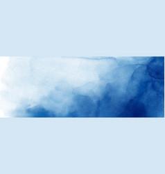 Abstract surface dark blue watercolor texture vector