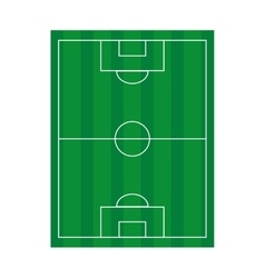 Camp field soccer icon vector
