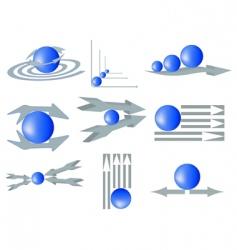 company logotypes vector image