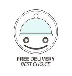 Express delivery service logo template vector