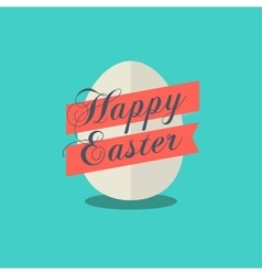 Happy Easter egg icon vector