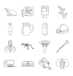 Medicine art cooking and other web icon in vector
