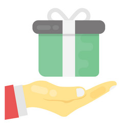 Presenting gift vector