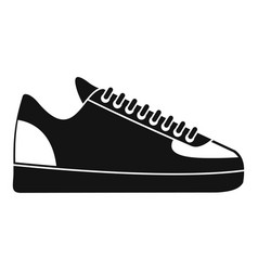 rap sneakers icon simple style vector image